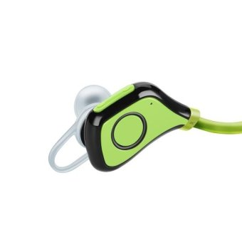 BS-5 Bluetooth 4.0 Wireless Stereo Sports Headset with Microphone Green