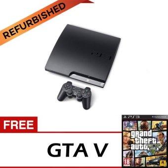 Sony PS3 Refurbish + Free GTA V Bluray