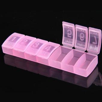 harga Kotak Obat Mini / Kotak Obat Saku Model Panjang - Pink Lazada.co.id