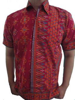 harga AM Collection Kemeja Batik Modern Lazada.co.id