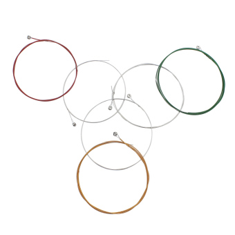 Colorful Steel Copper Alloy Wound 1st-6th (.009-.042) 6pcs Electric Guitar Strings String Set (Intl)