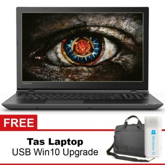 Toshiba 15.6 Gaming Laptop AMD A10-8Gb-1Tb-RADEON-win8 + Gratis Tas Laptop + USB Self Upgrade Windows 10