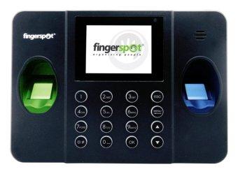 Fingerspot Revo Duo 158BNC Dua Sensor - Mesin Absensi Sidik Jari, Kartu & Password - Hitam