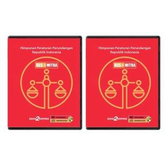 RGSMitra DVD Data Himpunan Peraturan Perundangan - 2 Pcs