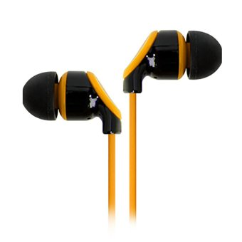 LG LE-1700 Earset Stereo In Ear Earphones for Smartphones LE1700 Titan Yellow