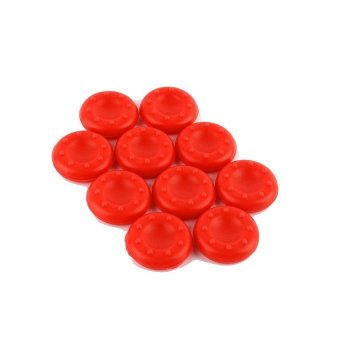 Silicone Thumb Stick for PS2/3/4 Xbox 360/ONE Controller (Red) (Intl)