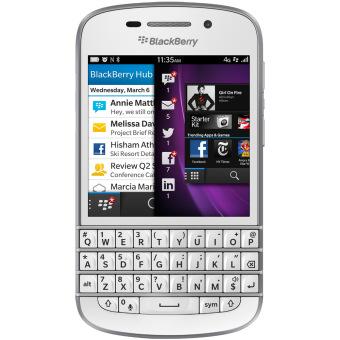 Blackberry Q10 - Putih