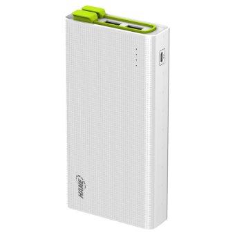 Jual Hame X3 Power Bank 3 Port USB 20000mAh - HAME-X3 - Putih-Hijau Harga Termurah Rp 599000. Beli Sekarang dan Dapatkan Diskonnya.