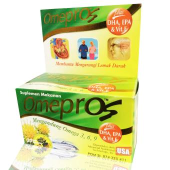 harga Omepros plus DHA, EPA & Vitamin E Lazada.co.id