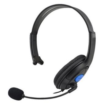 Universal HuntGold Gaming Headset Headphone with Vol Control for Playstation 4 - Black