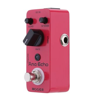 Mooer Ana Echo Micro Mini Electric Guitar Analog Delay Effect Pedal True Bypass