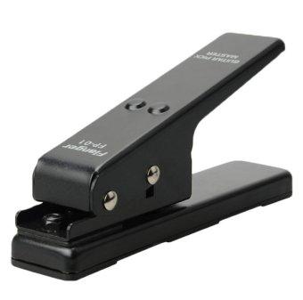 JNTworld Professional Portable Flanger Pick Punch Guitar Pick Plectrum Maker Pick DIY (Black) - Intl