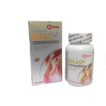 Emilay Breast Enhancement USA - 1 Botol 60 Kapsul