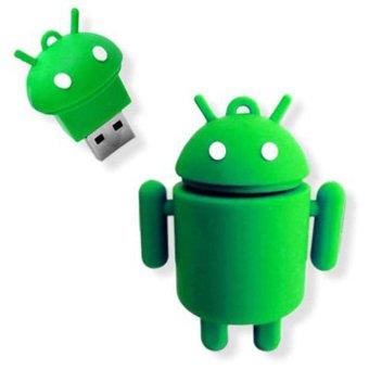 harga JIANGYUYAN 8GB Baby Robot Cute Cartoon Android USB 2.0 Flash Drive Memory Stick (Green) Lazada.co.id
