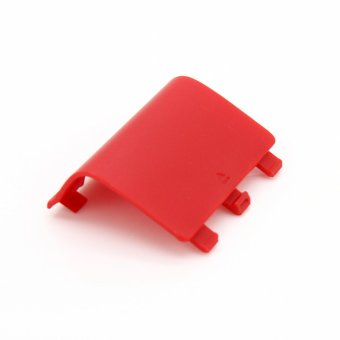 Elenxs Light Weight Door Guard Cabinet Battery Back Cover Lid for XBox One (Red)