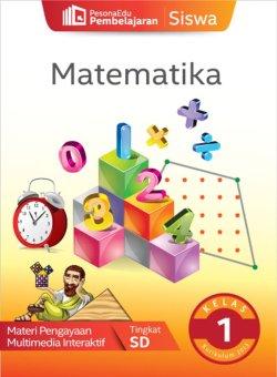 PesonaEdu Pembelajaran Digital - Pembelajaran Siswa Matematika Kelas 1