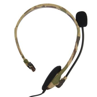 Headphone with Microphone for Xbox 360 Live - Camouflage