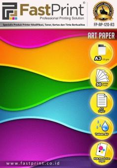 harga Fast Print Kertas Printer Art Paper Ukuran A3 120 Gram Lazada.co.id