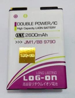 Log On Battery JM1 For Blackberry Bellagio 9790 terpercaya