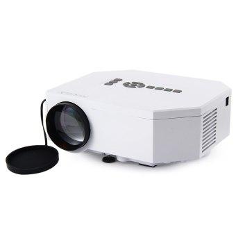 UC30 Mini LED Projector 150 Lux 640 x 480 Pixels Portable Home Theater Projector (White EU Plug) (Intl)