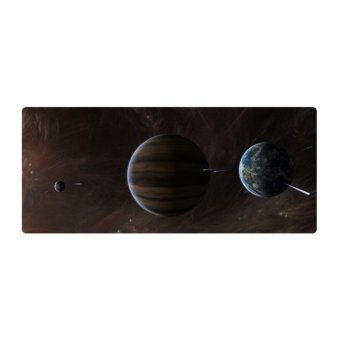 60*35*0.2cm Large Computer Gaming Mouse Mat Mousepad Easy Move (Intl)