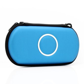 Hard Carry Case Cover Protector For Sony Psp 2000 3000 Light Blue
