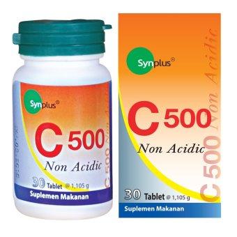 Synplus C-500 Non Acidic Vitamin C - 30 Tablet