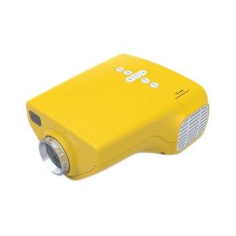 Mini Multimedia Home Projector Yellow (Intl)