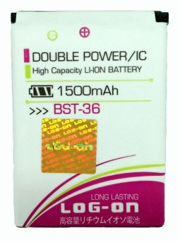 Log On Battery For Sony BST-36 for Sony Ericsson: J300, K750, K510a, T250a, W200, W200i, Z310a, Z550 terpercaya