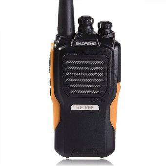 Baofeng BF-658 Walkie Talkie Handheld UHF 400.00-470.00 MHz (Black) (Intl)