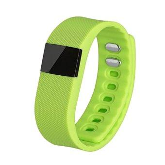 TW64 Smart Bracelet Fitness Tracker Bluetooth 4.0 Watch (green) (Intl)