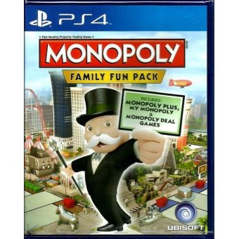 Sony PS4 Games Monopoly Family Fun Pack Region 3