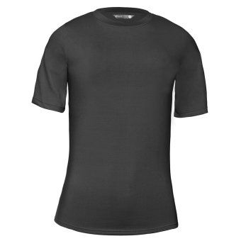 Invel Active Shirt Short Sleeve Premium Black - Man - XXL
