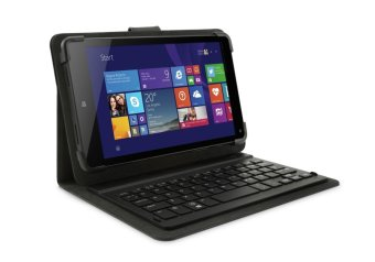 HP Stream 8 Tablet with Bluetooth Keyboard (Black)