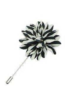 Hot Men's Brooch Lapel Flower Boutonniere Stick Pin Handmade Wedding Accessories M11