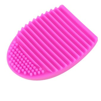 Allwin 1 x NEW Silicone Brush Cleaner Cleaning Glove Makeup Washing Scrubber 0 (Intl) (Intl)