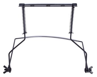 CITOLE 10 Hole Harmonica Holder Stand for Hands-free Playing Perfectly Fit for Harmonica Lovers (Black) (Intl)