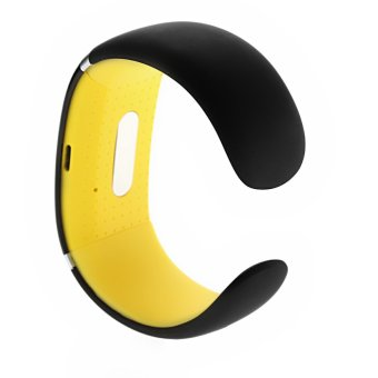 JF Bluetooth Wrist Smart Bracelet Watch Phone for Smartphone(Yellow)
