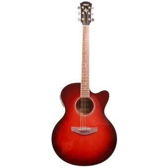 Yamaha Gitar Akustik Elektrik CPX-500II - Dark Red Burst