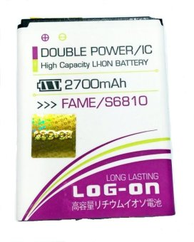 Log On Battery For Samsung Galaxy Fame/S6810 terpercaya
