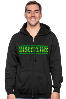 harga Positive Outfit Hoodie Discipline - Hitam Lazada.co.id