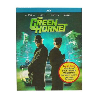 Sony Pictures The Green Hornet Blu-ray