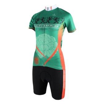 PALADINSPORT Women Cycling Sport Short Pant and Jersey Set (Intl)