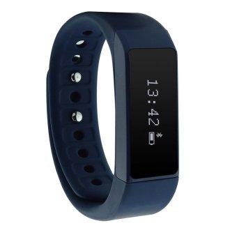 I5 Plus Wireless Fitness Tracker Fitbit Band Touch Screen IP67 Waterproof Smart Bracelet Sports Wristband Blue