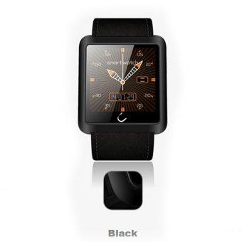 W-0715 Smart Anti-lost Bluetooth Watch Waterproof for Andriod IOS Phone (Black) - Intl