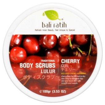 Bali Ratih - Body Scrub 110mL - Cherry
