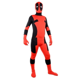 harga Lycra zentai Deadpool Set costumes Lazada.co.id