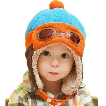 Topi Pilot Anak /