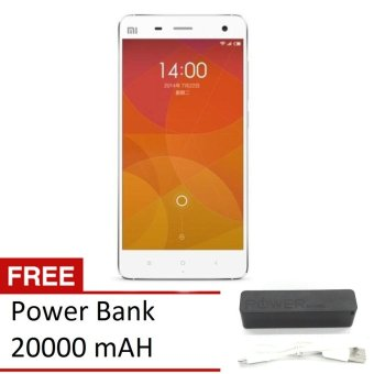 Xiaomi Mi4 4G - 16GB - White + Gratis Power Bank 20000mAH