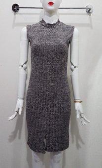 Befassto Knit Dress - DARK GREY
